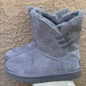 UGG grey suede boots fully lined brand new Size 11